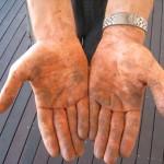 Arbeiter-Hände
