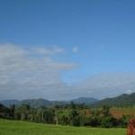 Blick von der Farm