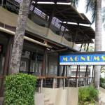 Magnums Hotel Eingang
