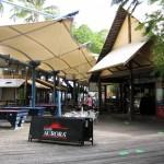 Magnums Bar und Eingang