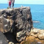 Klippenspringen auf Hook Island