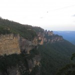 Ausblick nahe Katoomba Campingplatz