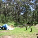 Kostenloser Campingplatz