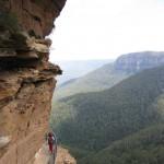 Weg zu den Wentworth Falls