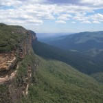 Ausblick Blue Mountains