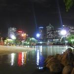 Southbank Lagune nachts