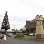 Hippi-Weihnachtsbaum