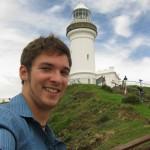 Ich am östlichsten Punkt Australiens