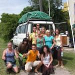 Gruppenfoto Fraser Island