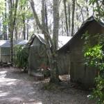 Schlafräume im Camp