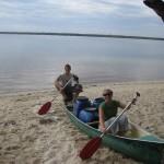 Wir im Kanu