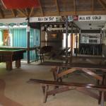 Aufenthaltsraum und Bar