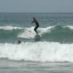 Ich in den Wellen