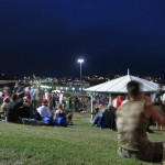 Festivalfeeling am Strand