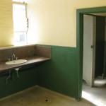 Toiletten im 4ten Stock