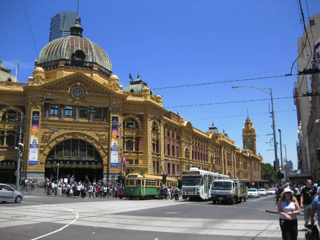 Bourke Street Cafes Melbourne