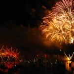 Feuerwerk an der Habour-Bridge