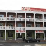Fassade des YHA