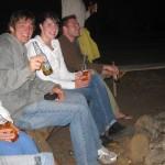 Lagerfeuer und Bier