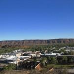 Blick auf Alice Springs